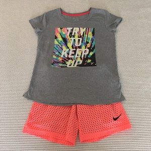 Nike Girls Size 12/14 Activewear Outfit